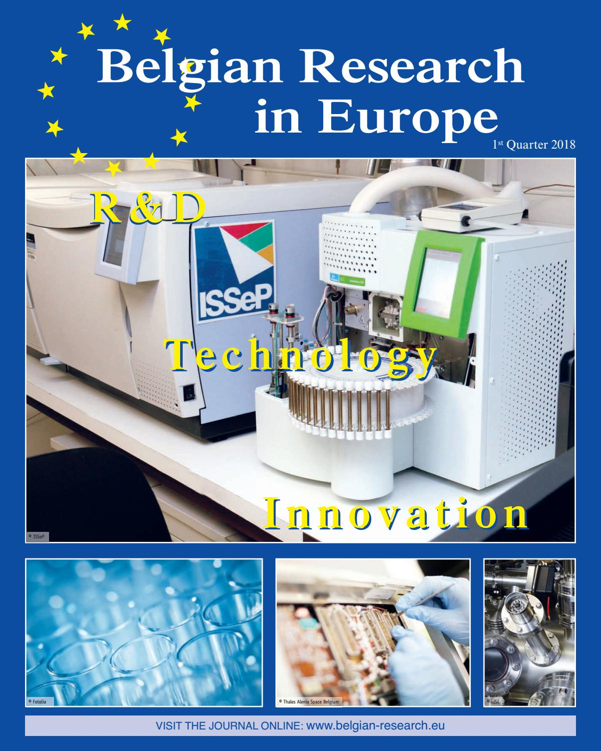 BELGIAN RESEARCH 2018 by Offset5 - issuu