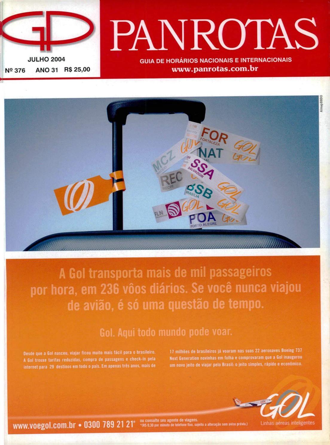 official photos 62c5f 9cf2f Guia PANROTAS - Edição 376 - Julho 2004 by PANROTAS Editora - issuu