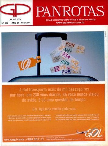 a31deb3dd8c Guia PANROTAS - Edição 376 - Julho 2004 by PANROTAS Editora - issuu