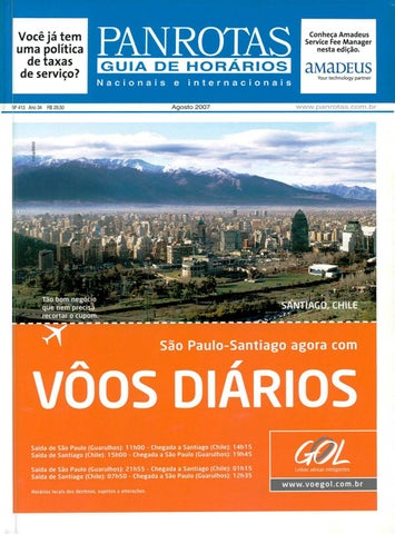 e951dc5bbb Guia PANROTAS - Edição 413 - Agosto 2007 by PANROTAS Editora - issuu