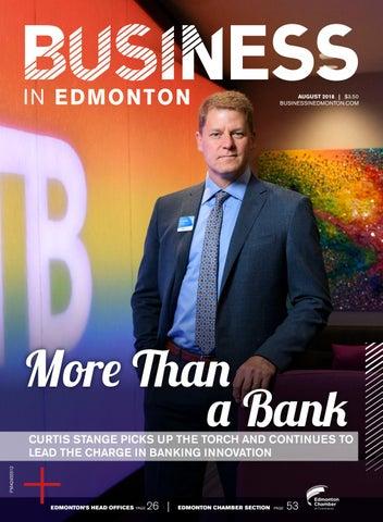 Business in Edmonton August 2018 by Business in Edmonton