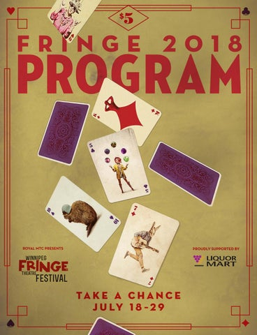 a77a27862c155c Winnipeg Fringe Theatre Festival program guide 2018 by Royal ...