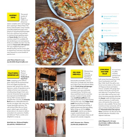 Sauce magazine august 2018 by sauce magazine issuu the second location of blueprint coffee is an old service station complete with a wall of garage doors opening to watson road the breezy indooroutdoor malvernweather Gallery