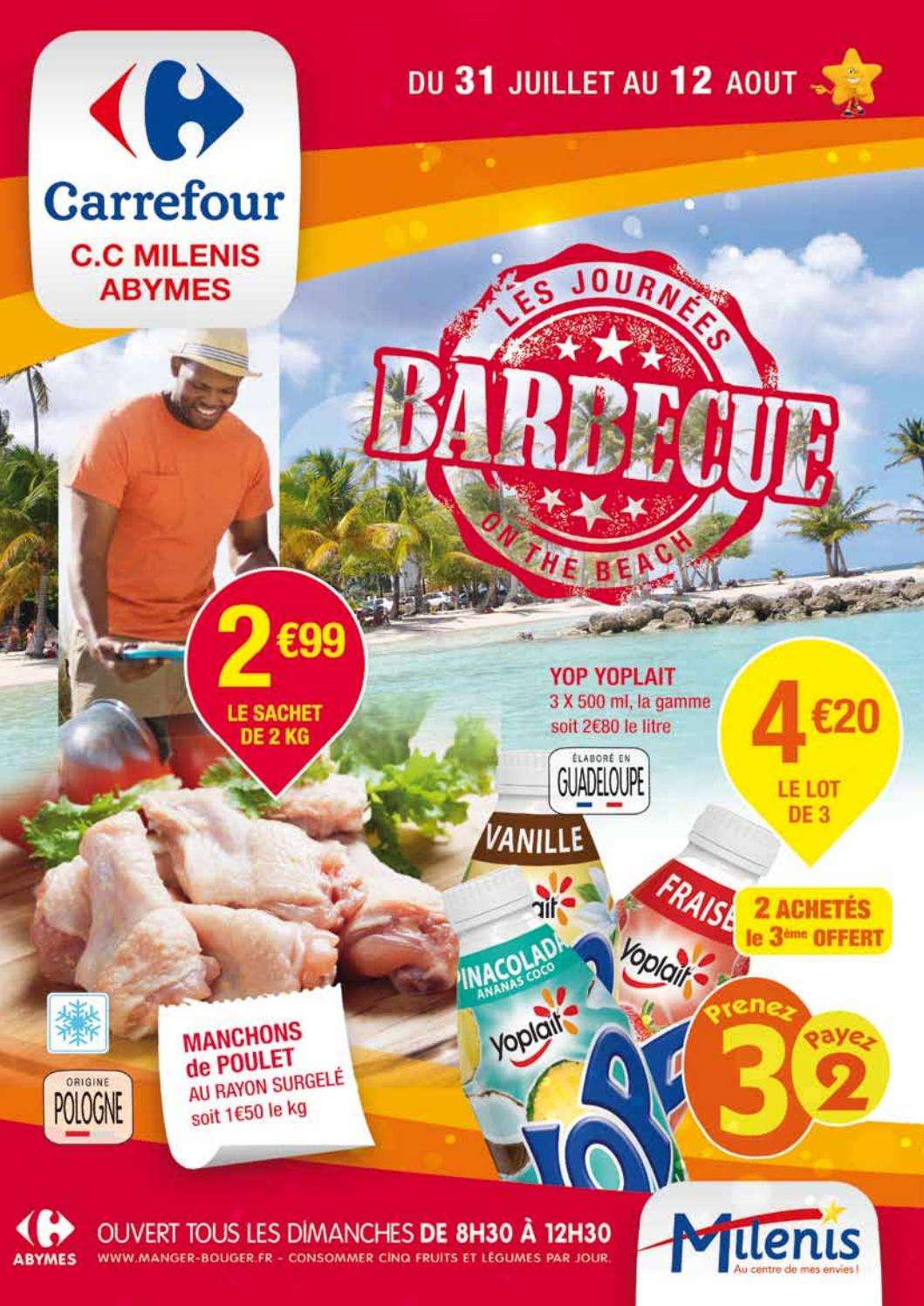 Carrefour Milenis Barbecue By Momentum Média Issuu