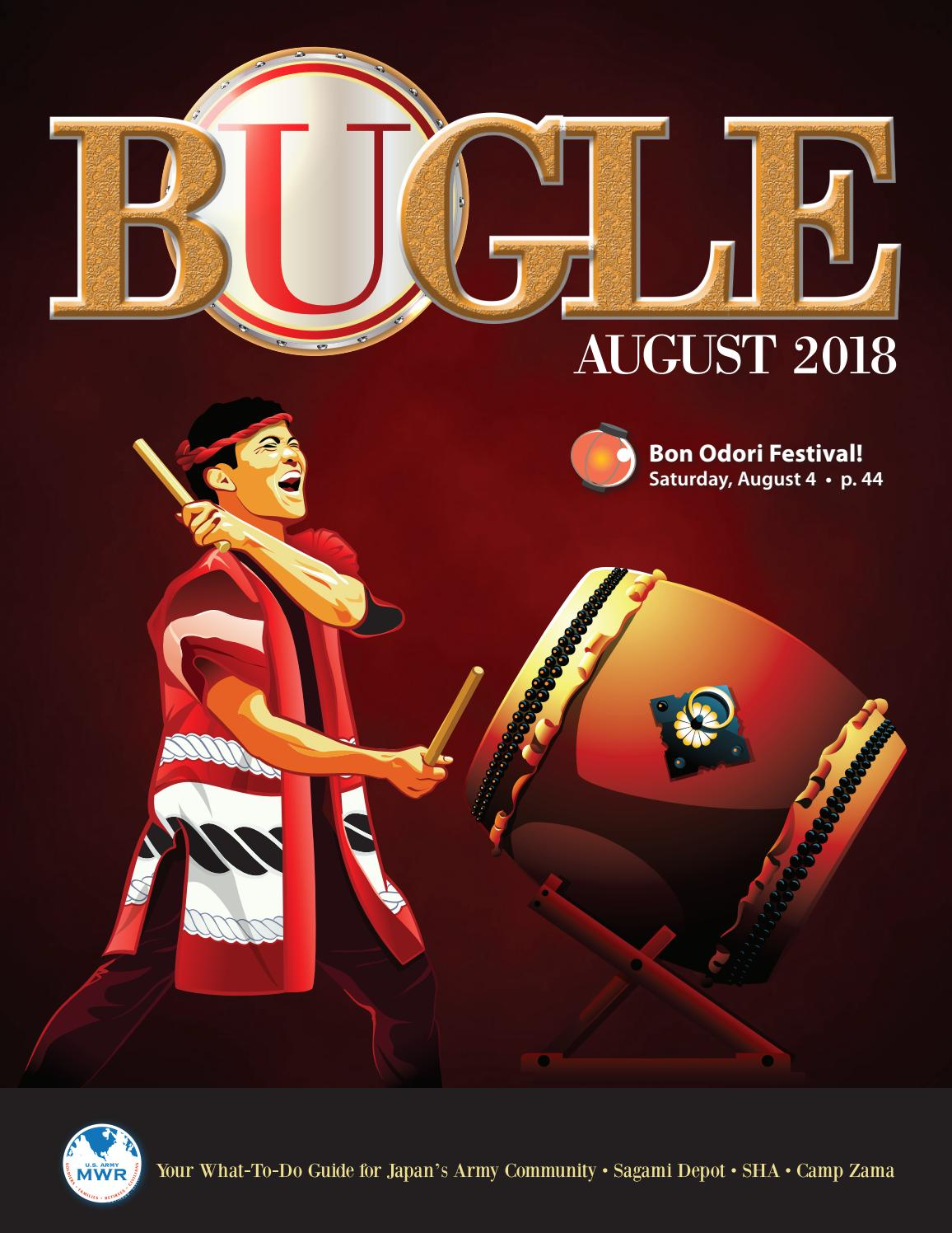 b9021291c3b August 2018 Bugle by Camp Zama MWR Marketing - issuu