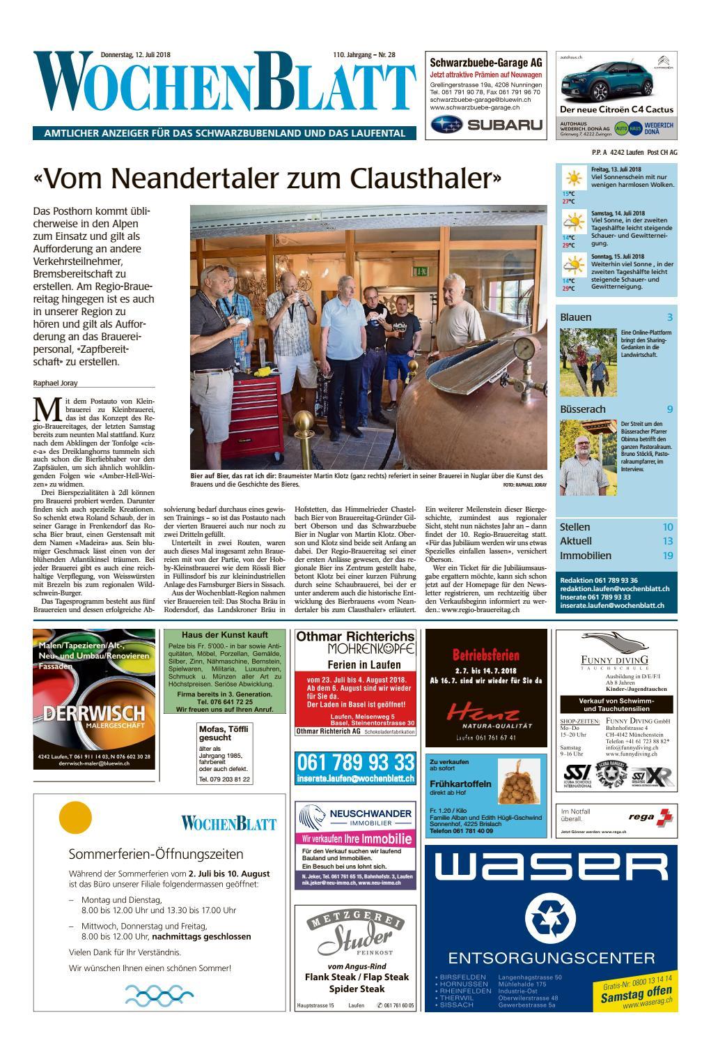 28_20180712_WOZ_WOSANZ by AZ-Anzeiger - issuu