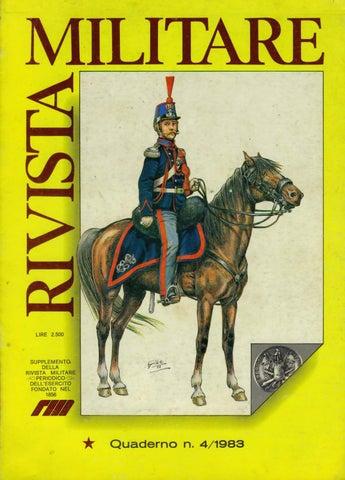 QUADERNO N.4 -1983 DI RIVISTA MILITARE by Biblioteca Militare - issuu 2b242a5a25c