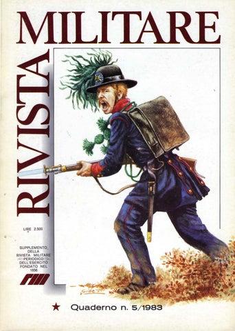 QUADERNO N.5 -1983 DI RIVISTA MILITARE by Biblioteca Militare - issuu 5fe6e0fc51c1