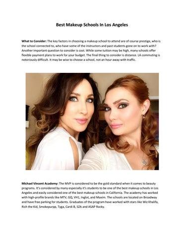 Best Makeup Schools In Los Angeles By