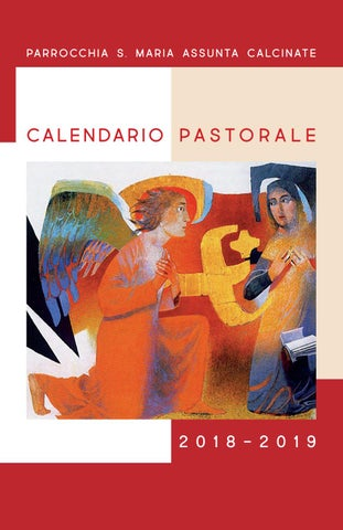 Calendario Con Onomastico 2019.Calendario Pastorale Calcinate 2018 2019 By Oratorio