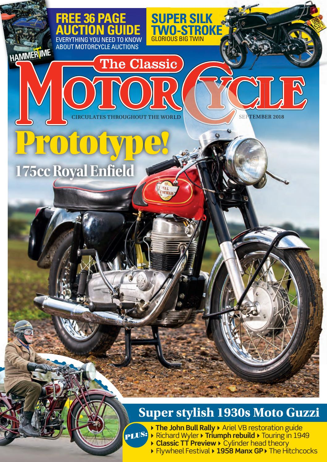 0d2171944 The Classic Motorcycle by Mortons Media Group Ltd - issuu