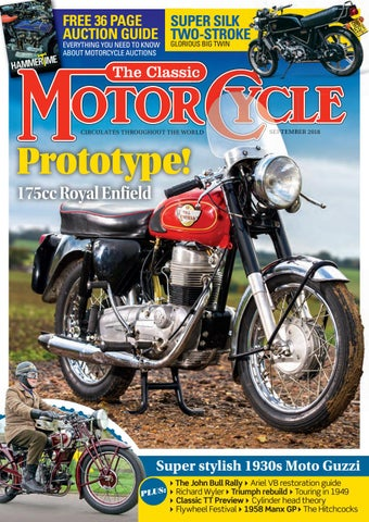 b026240ad2e F FREE 36 PAGE SUPER SILK A AUCTION GUIDE TWO-STROKE GLORIOUS BIG TWIN EV  VERYTHING YOU NEED TO KNOW ABOUT MOTORCYCLE AUCTIONS