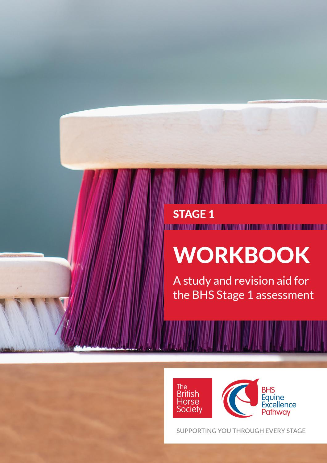 Bhs Stage 1 Workbook A Study And