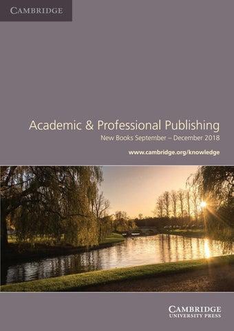 Academic Professional Publishing By Cambridge University Press Issuu