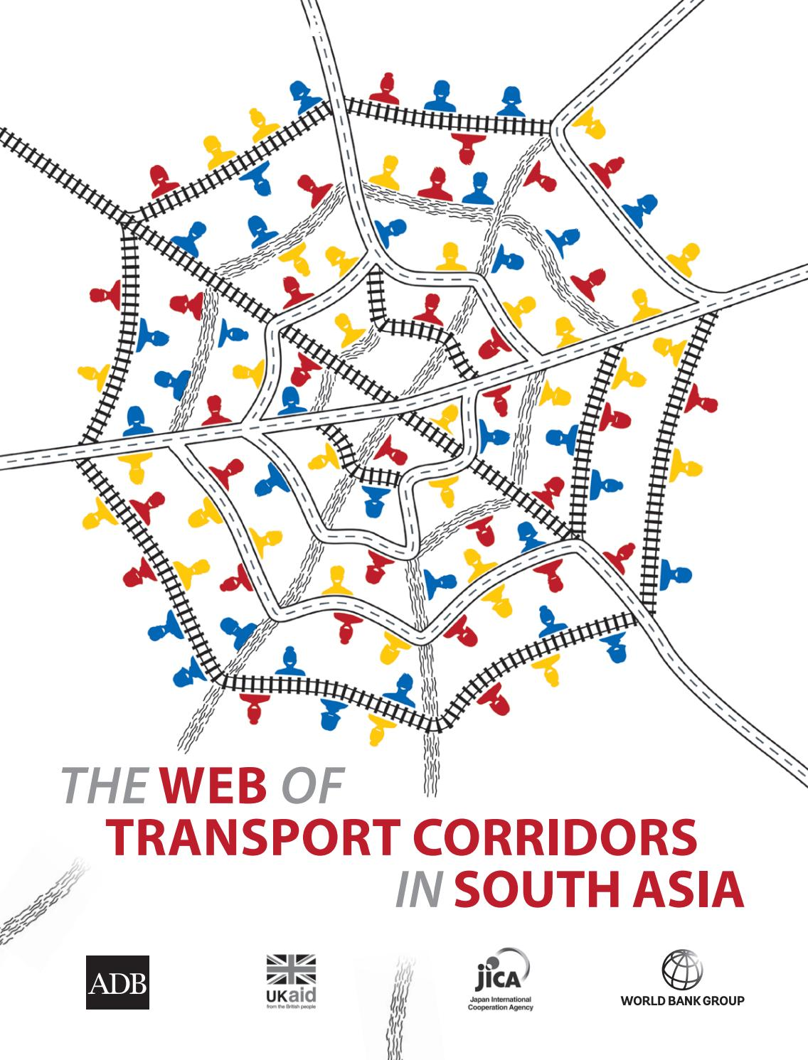The WEB of Transport Corridors in South Asia by World Bank
