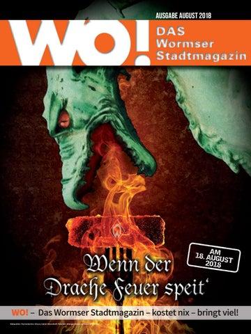 Wo Das Wormser Stadtmagazin August 2018 By Wo Das Wormser