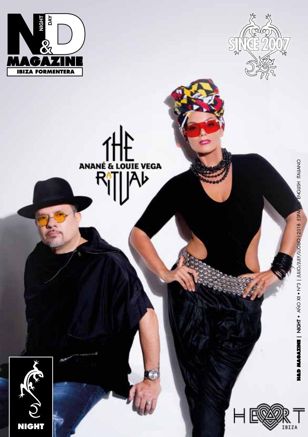 Night&Day Magazine Ibiza Night Año XII n3 Julio/July 2018 by ...