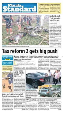 Manila Standard - 2018 August 1 - Wednesday by Manila Standard - issuu