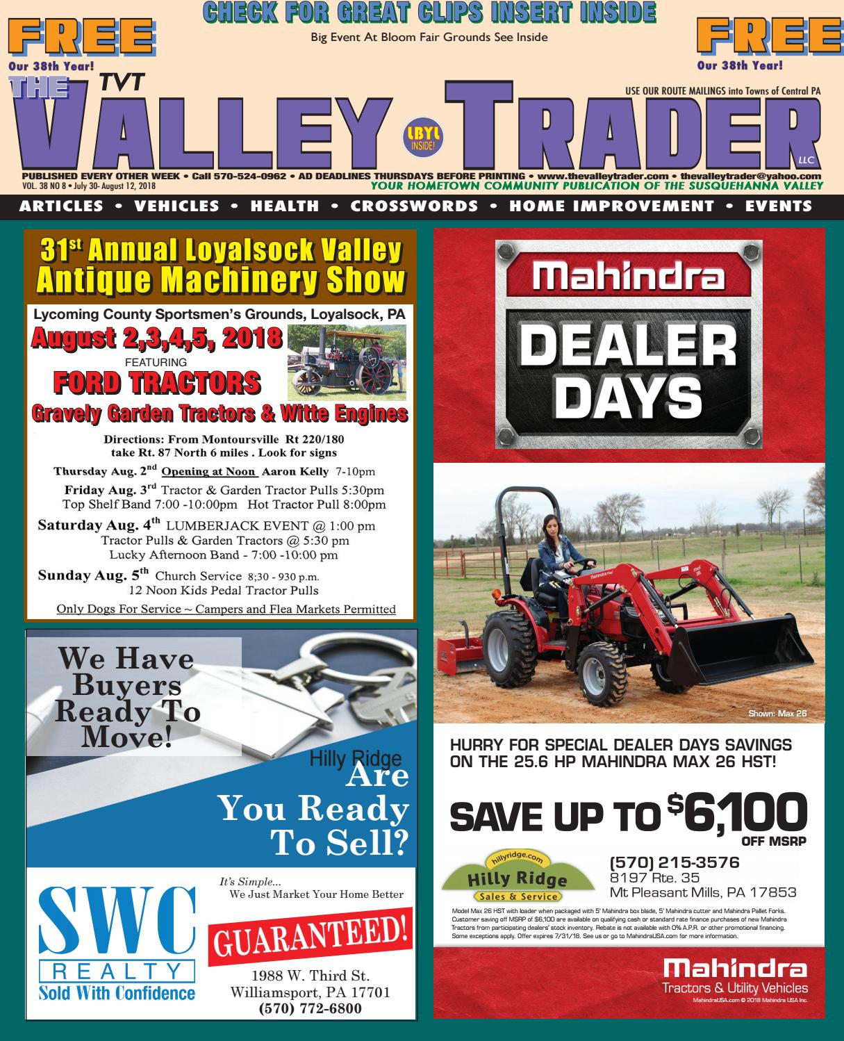 34d800eb27210 TVT The Valley Trader 7.30.18 by maxoberdorf - issuu