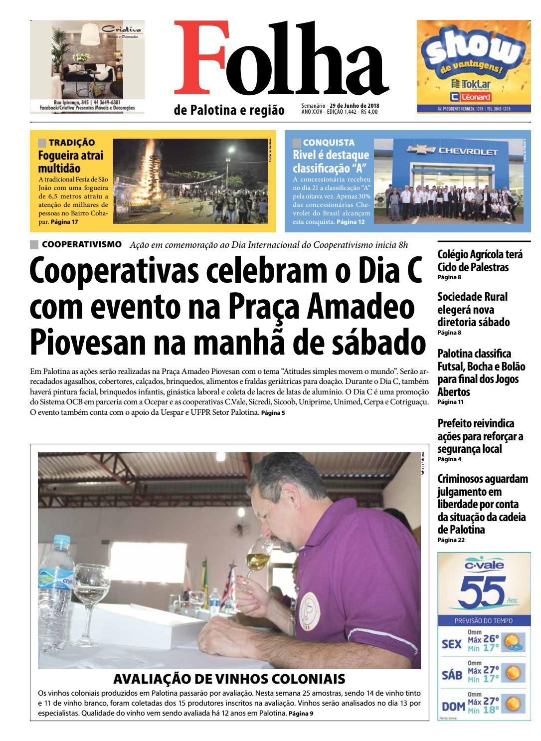 b0b916a67 Folha de Palotina 29 06 2018 by Folha de Palotina - issuu