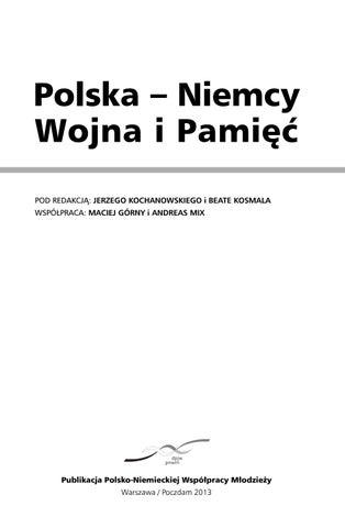 Polska - Niemcy  Wojna i Pamięć by Deutsch-Polnisches
