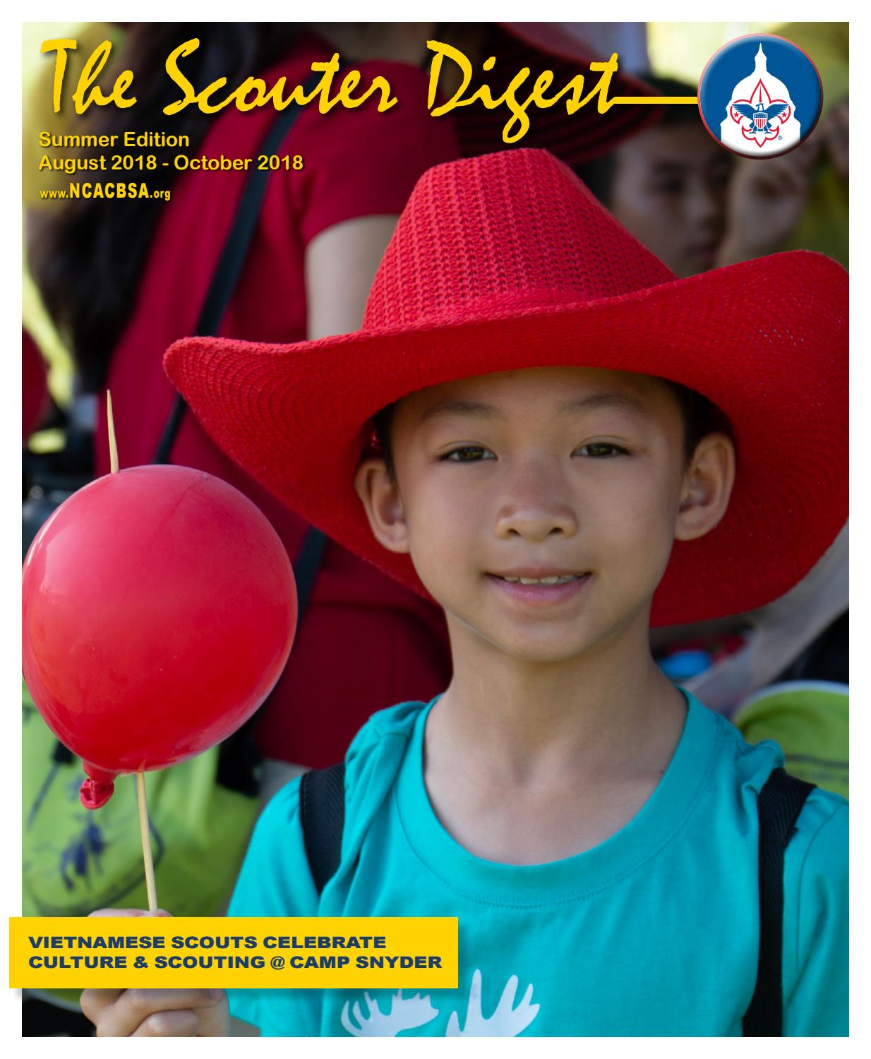 Scouter Digest Summer 2018 by National Capital Area Council