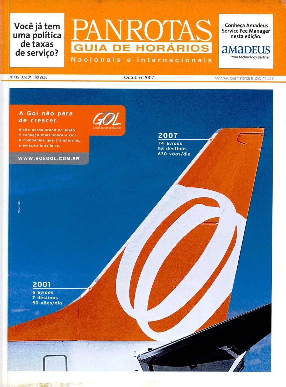 3cfe0f543 Guia PANROTAS - Edição 415 - Outubro/2007 by PANROTAS Editora - issuu