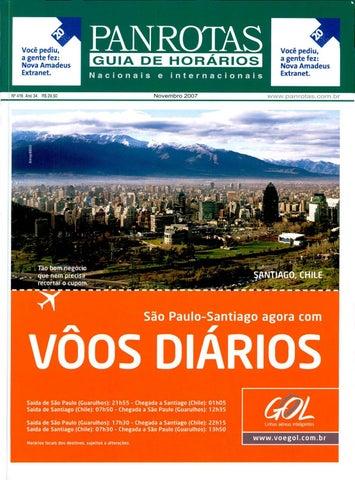 Guia PANROTAS - Edição 416 - Novembro 2007 by PANROTAS Editora - issuu c88f077a253