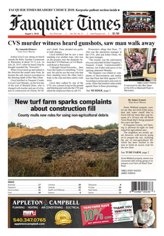 fauquier times august 1 2018 by fauquier times issuu