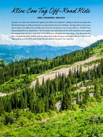 Page 90 of Klim Cow Tag Event: Caribou Targhee National Forest, Idaho