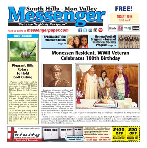 fe86839d4bc South Hills Mon Valley Messenger August 2018 by South Hills Mon ...