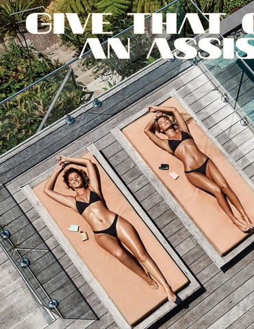 Page 90 of ATHLEISURE MAG JUL 2018 | GIVE THAT GLOW AN ASSIST