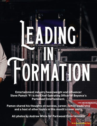 Page 23 of Cover Story: Steve Pamon '91
