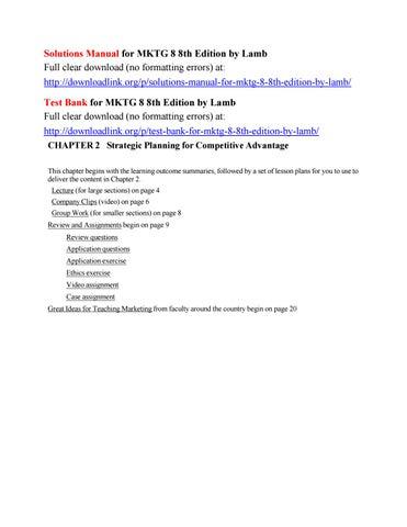 Mktg 8 Ebook