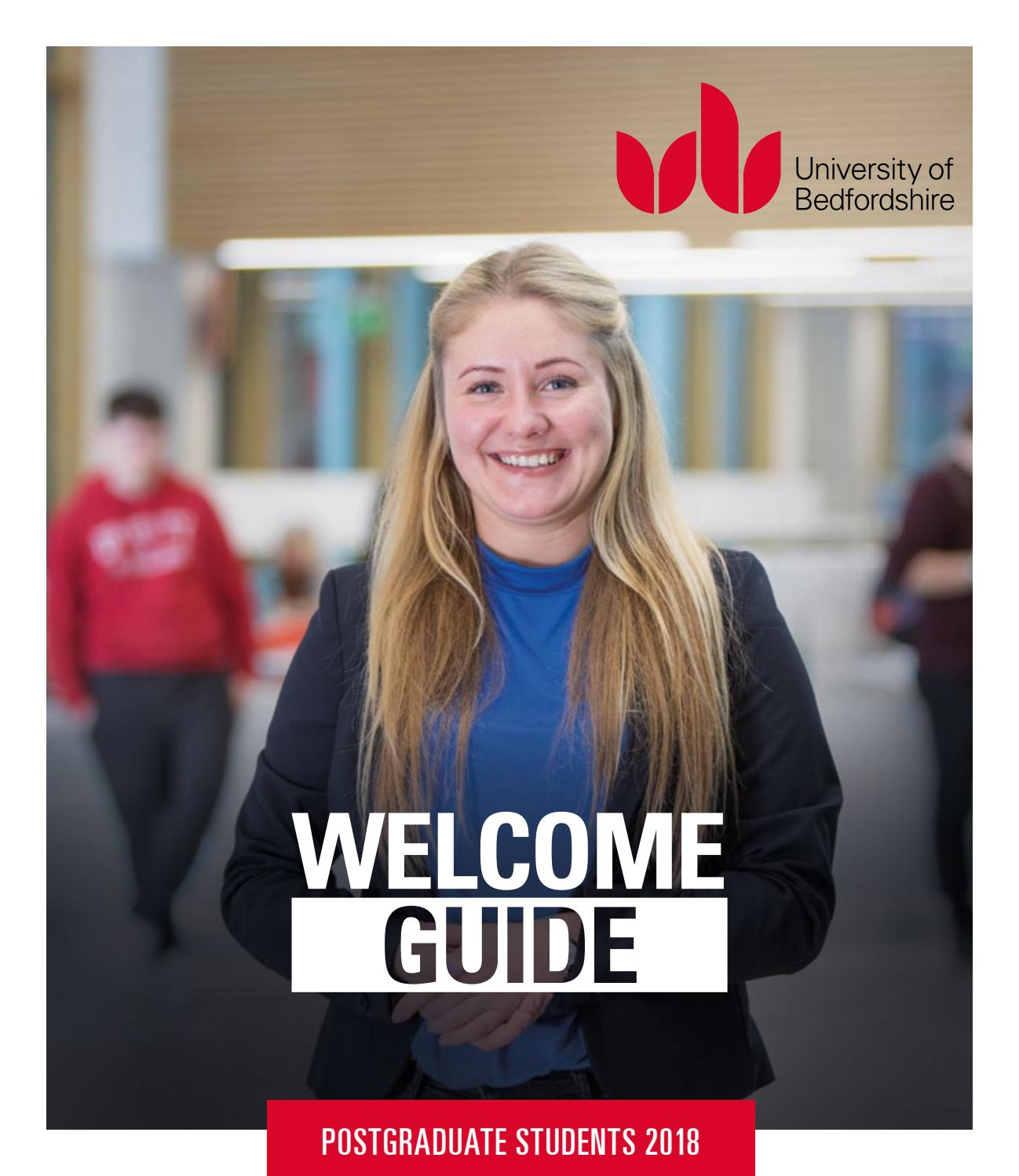 Postgraduate Student Welcome Guide 2018 By University Of