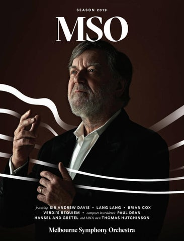 MSO Season 2019 Brochure by Melbourne Symphony Orchestra - issuu