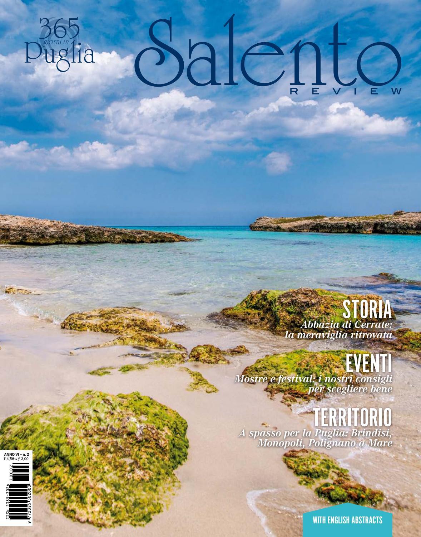 Numero Due - Anno Sesto by Salento Review - issuu 57a0267362b