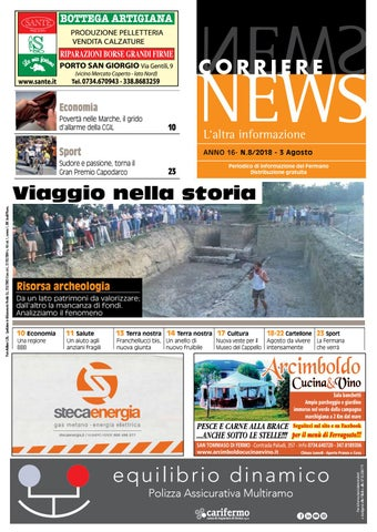 Corriere News Agosto 2018 By Corriere News Issuu