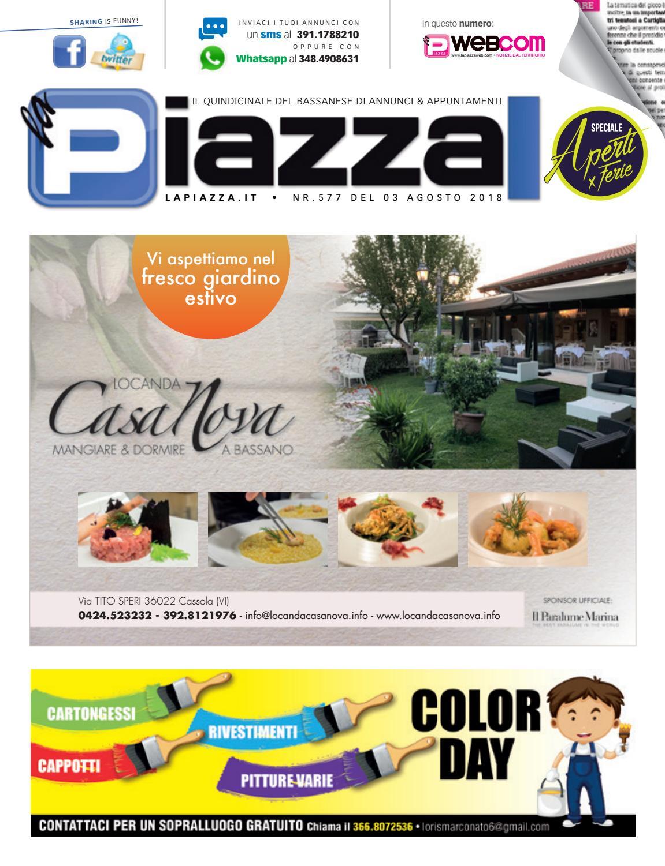 info for d469c b375a la Piazza di Bassano 577 by la Piazza di Cavazzin Daniele - issuu