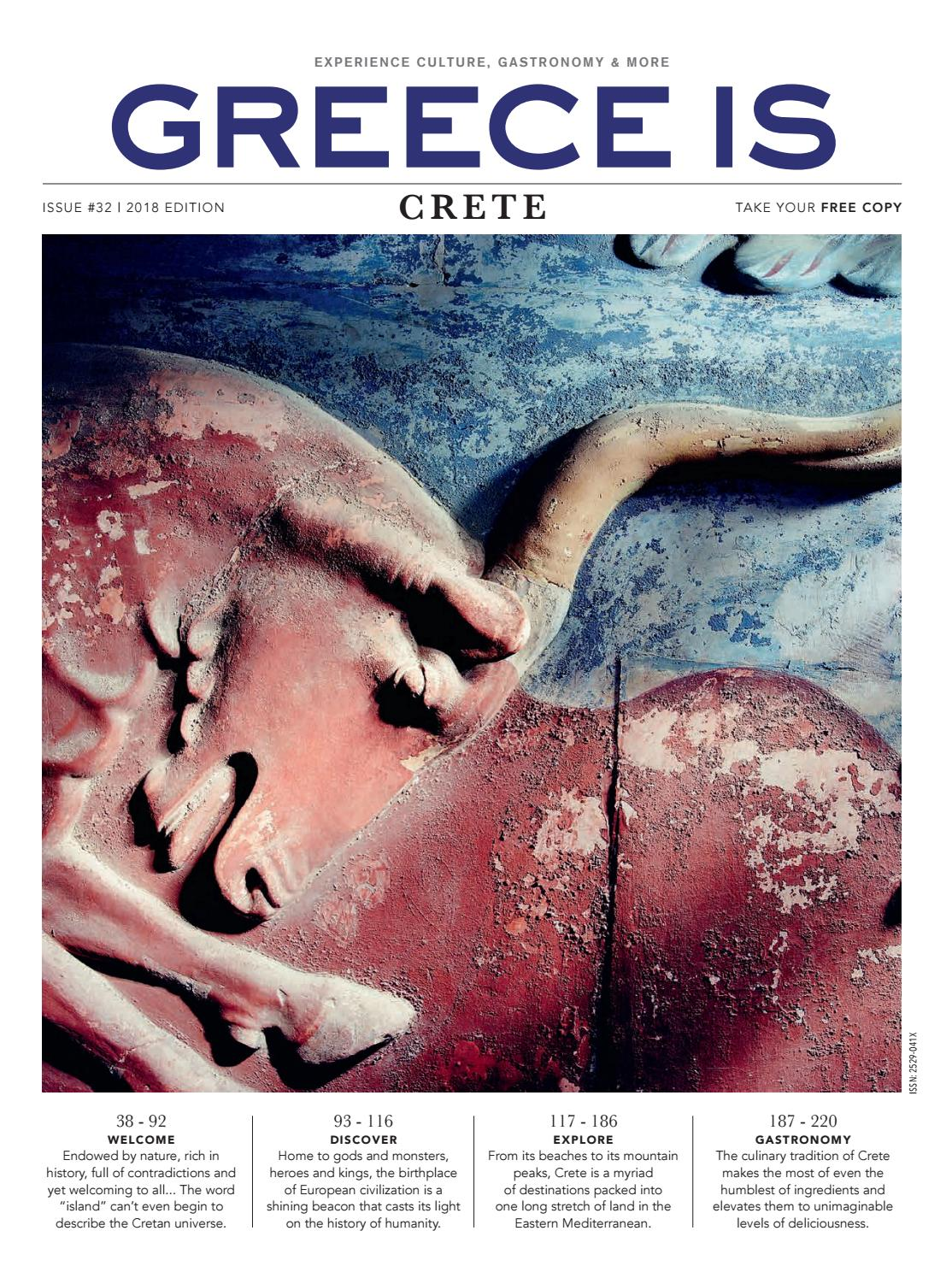 Greece Is Crete 2018 By Issuu Hj Black Ston Premium Ori
