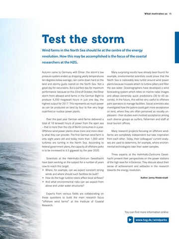 Page 15 of Test the storm