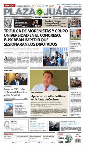 01 08 18 By Diario Plaza Juárez Issuu