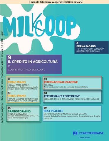 56f3e87253 Milkcoop magazine - Il mensile delle filiere cooperative lattiero-casearie  n.7_2018_Luglio