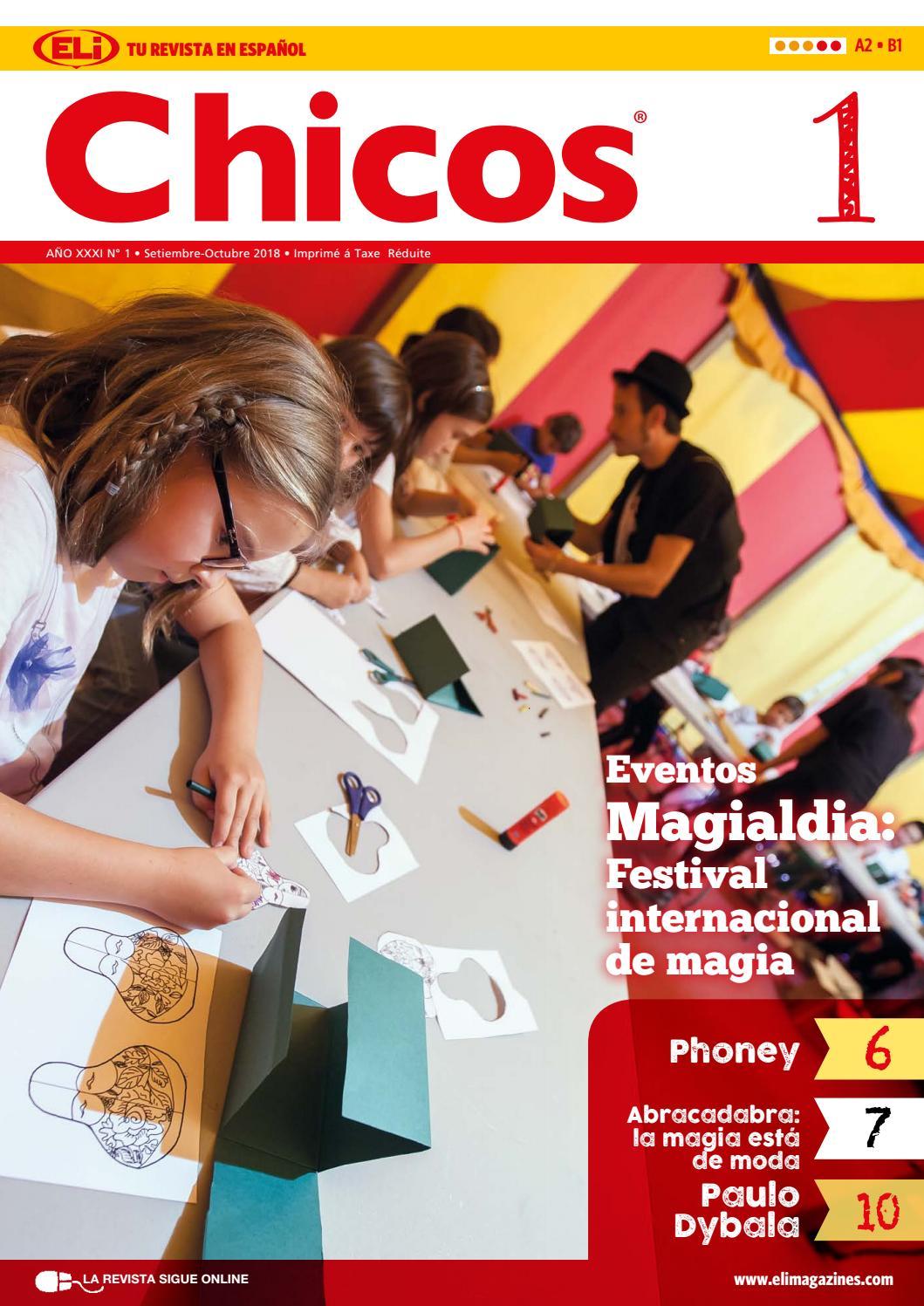 Chicos120182019 By Eli Publishing Issuu