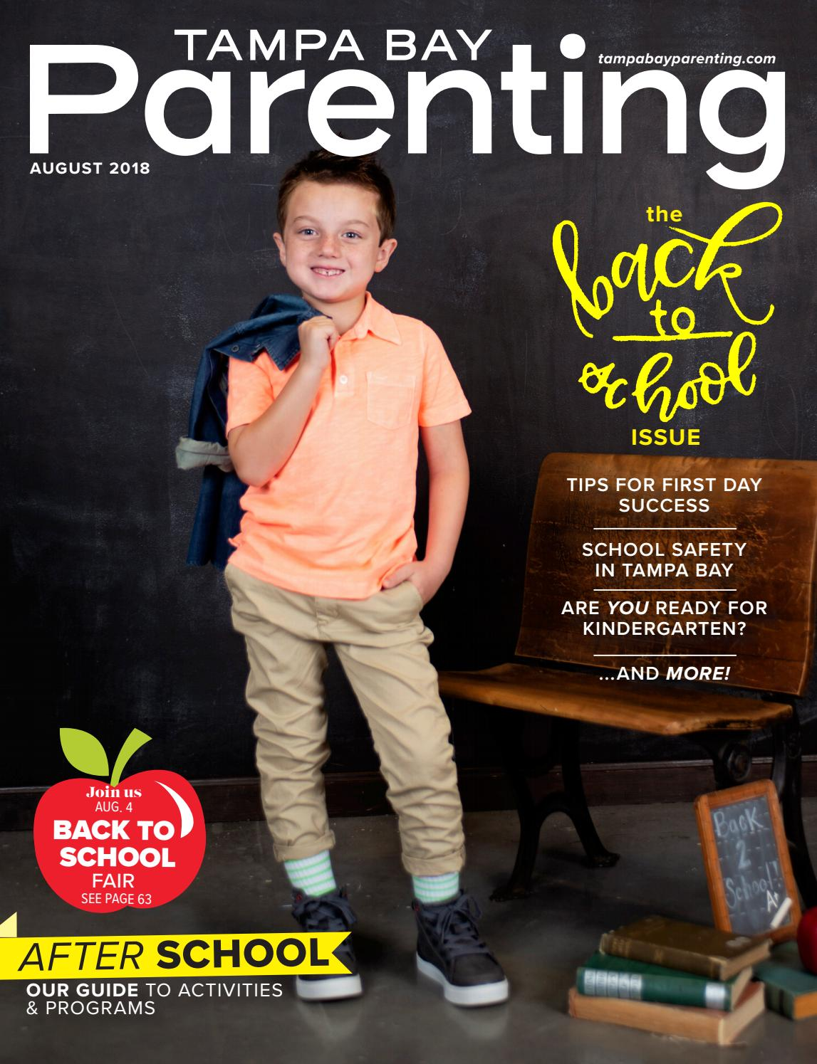 e95b9b01cb8 August 2018 by Tampa Bay Parenting Magazine - issuu