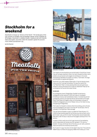 Page 100 of Stockholm for a weekend