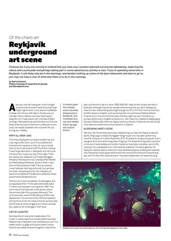 Page 16 of The Reykjavik underground art scene