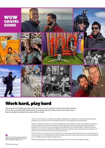 Page 70 of Work hard - Play hard
