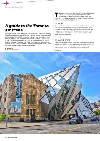 Page 96 of A guide to the Toronto art scene
