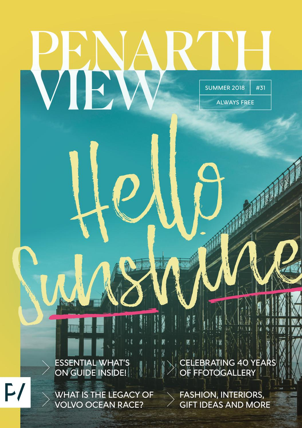 Penarth View Issue 31 (Summer 2018) by Penarth View - issuu